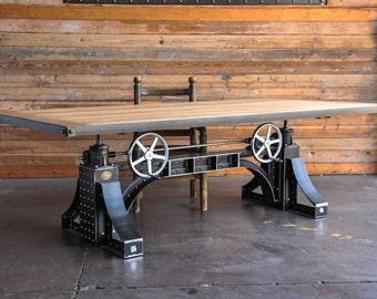 Vintage Industrial Dining Table / Desk