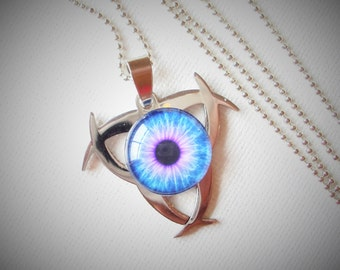 Steampunk Naked Eye Necklace   C 10-13