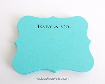 Items Similar To Tiffanys And Co Gift Tag For Wedding Wishing Tree Gift Tag Or Bridal Shower