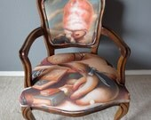 The Telling Tale Chair - Brandi Milne artist collaboration