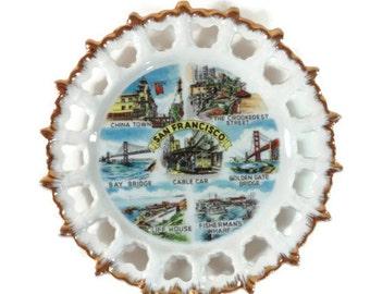 San Francisco Souvenir Travel Plate