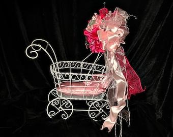 Paris baby shower centerpiece decoration