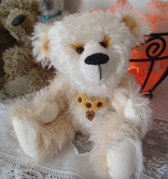 Teddy Bear- Sunny 10 inch OOAK Mohair artist bear