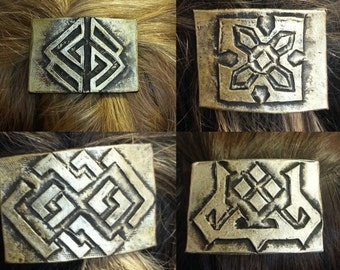 Dwarven Hair Clasp-set of four