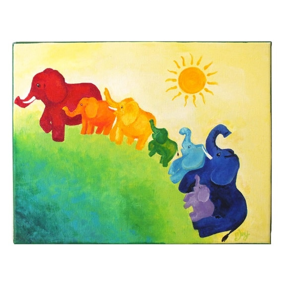 Paintings for childrens rooms images for Kids room canvas