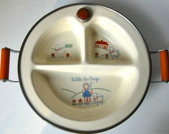 Little Bo Peep Baby Warming Dish