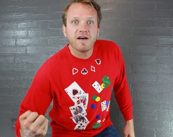 Vintage Poker Cards sweatshirt