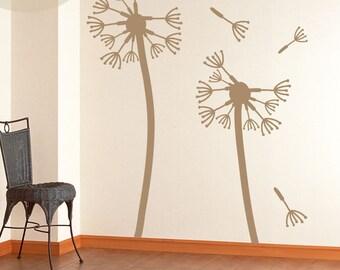Dandelion (Large) - Vinyl Wall Decal