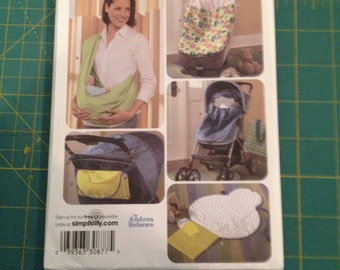 Simplicity Baby Accessories Pattern #3712