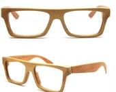 Sale 20% Takemoto Knight Handmade American Cherry Wood Wooded Glasses Eyeglasses