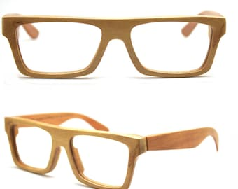 Sale 20% Takemoto Knight Handmade American Cherry Wood Wooded Glasses Eyeglasses