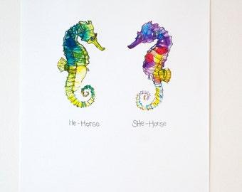 He-Horse She-Horse