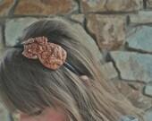 Glitter flower headband for women: gigi