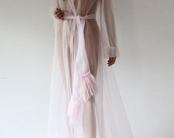 Vintage Robe Gown Lingerie Vintage CHRISST