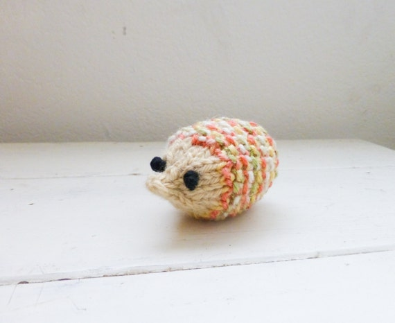 Stuffed Hedgehog Knitting Pattern : Amigurumi hedgehog, knit hedgehog, hedgehog doll, stuffed ...