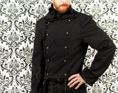 Victorian men's pinstripe jacket
