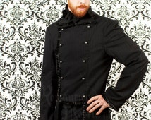 Victorian men's pinstripe jacket