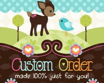 100% Custom Handpainted Framed Wooden Growth Chart---Custom Designed For You