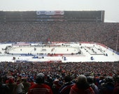 Winter Classic 2014 Michigan Stadium Anthem 8x10 Photo