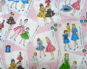 McCalls Pattern envelopes McCalls Collection Windham fabrics FQ