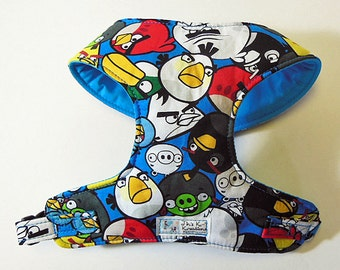 Angry Bird Comfort Soft Dog Harness. -Made to oder -