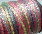 Neon Ombre Twisty Cord 3.5mm 1 Spool Approx 30 yds