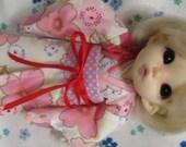 Pink Kimono for Pukifee ,lati yellow