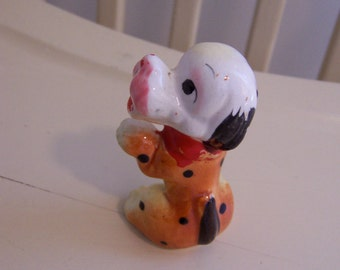 adorable little pooch figurine