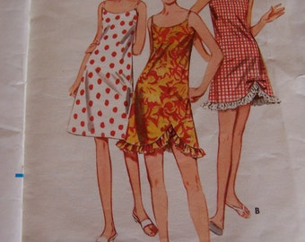 three 1960's vintage patterns