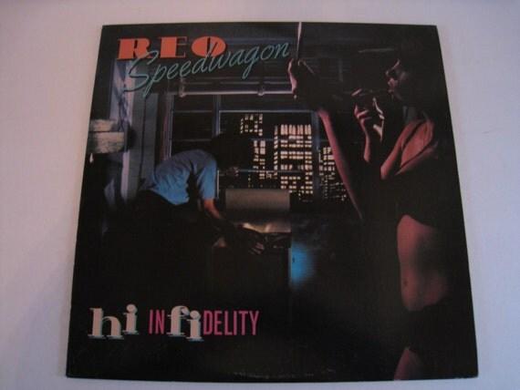 reo speedwagon hi infidelity vinyl lp record by rockislanddesigns. Black Bedroom Furniture Sets. Home Design Ideas