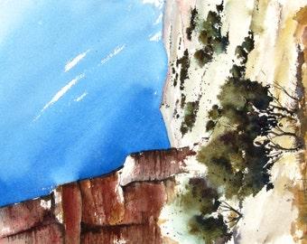 Canyonlands VIII - Original Watercolor Painting
