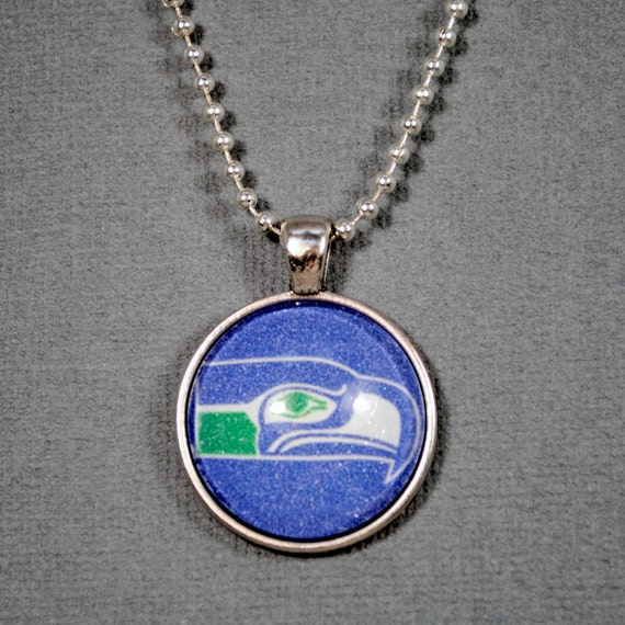 seahawks jewelry football jewelry seattle seahawks necklace seahawks football 1751
