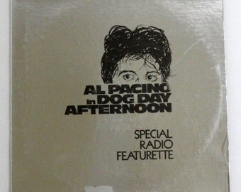 "Rare ""Al Pacino in Dog Day Afternoon: Radio Featurette"" Vinyl LP (1975) - Very Good Condition"