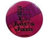 Cowboy Bebop 2-Inch Anime Button - 3...2...1...Let's Jam