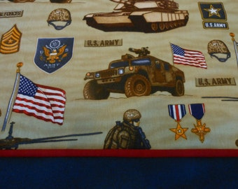 Pillowcase US Army  Choice of Sizes