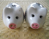 Astro World Pig Salt and Pepper Shakers - Vintage, Collectible, Souvenir