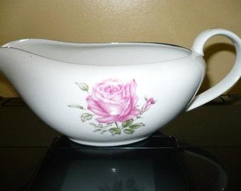 Vintage Imperial Rose Gravy Boat ( Bowl )