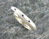 Sapphire Engagement Ring , Blue Sapphire Ring , Designer Silver Ring , Sterling Silver Ring , Blue Sapphire Jewelry