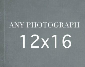 Any 12x16 Photography Print