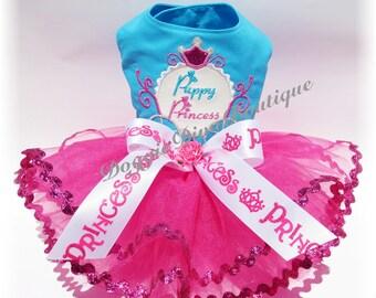 Dog Tutu Dress Puppy Princess Coach Medium