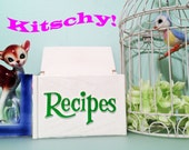 FTD Recipe Box with Flowers