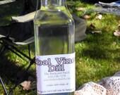 Herbal Vinegar, Dill Herb, wax seal