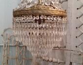 Amazing Wedding Cake Empire Chandelier