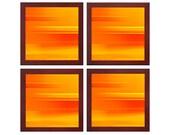Orange Abstract Wall Art Home Decor Fine Art Photography