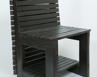 Modern Rust chair