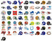 120 football embroidery designs BOGO instant download