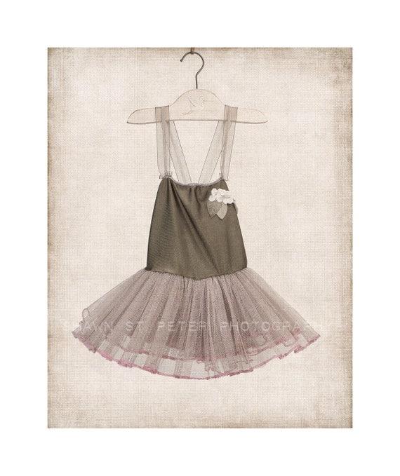 Green baby girl ballet tutu dress vertical photo print girls for Decoration list mhw