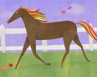 Graceful Gallop, Canvas Art Print