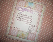 Winnie the Pooh Card - Love and Saying Goodbye - Christopher Robin and Winnie