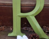 Wall Decor / Large Letter / Shabby Chic Wall Decor / New Item / Wedding Decor / Wedding Prop - PiCK YoUR CoLOr and PIcK YOuR LeTTeR